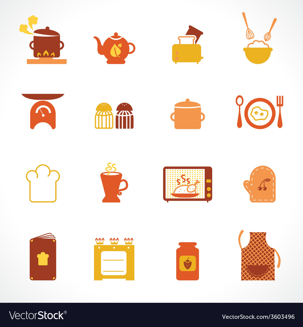 Cooking and kitchen vector | Price: 1 Credit (USD $1)