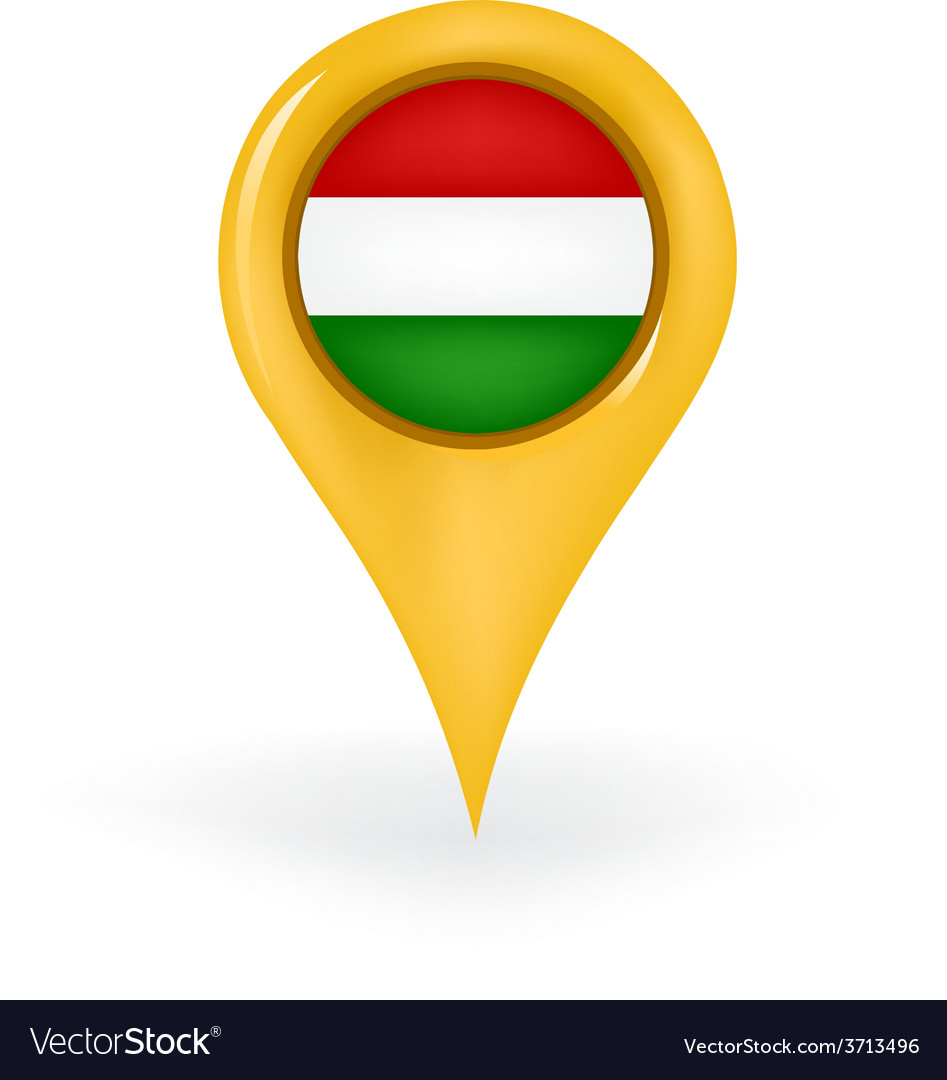 Location hungary vector | Price: 1 Credit (USD $1)