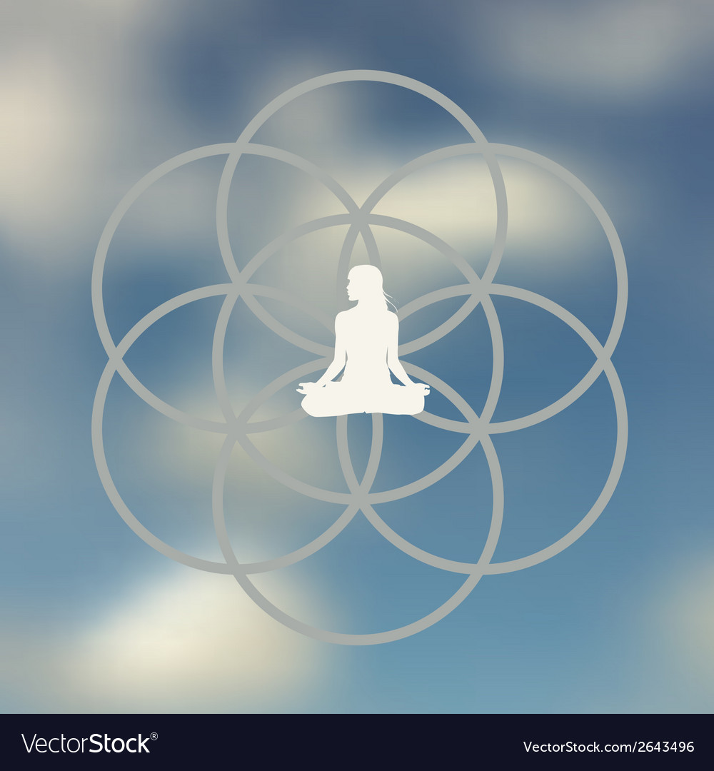 Meditation pose design vector   Price: 1 Credit (USD $1)