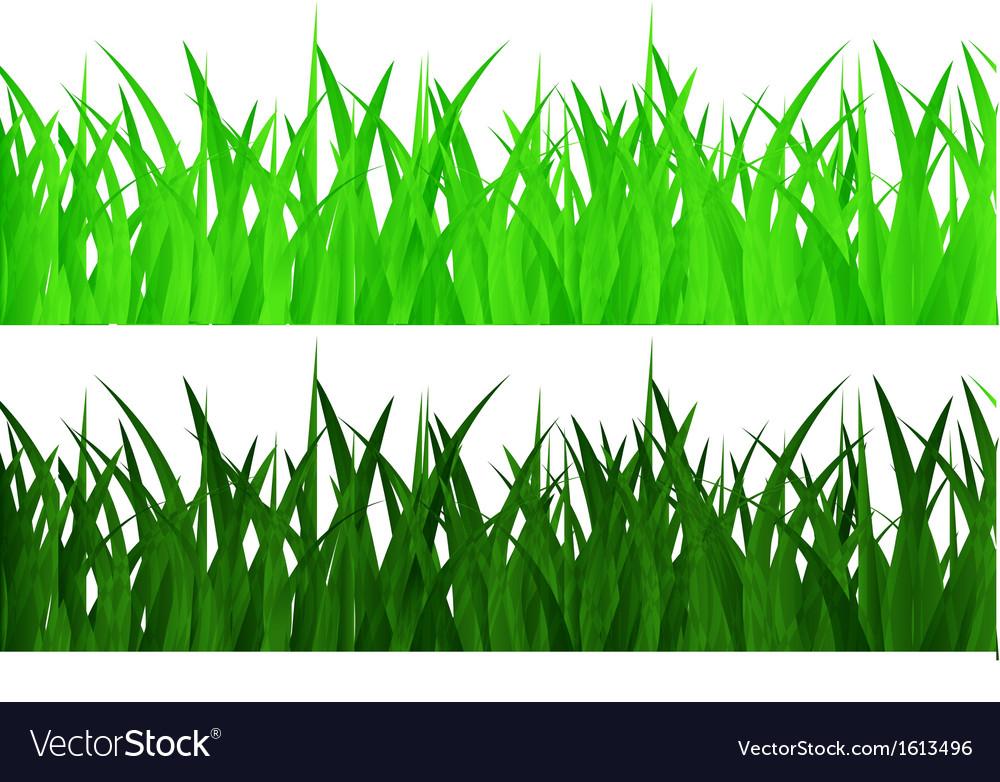 Seamless grass vector | Price: 1 Credit (USD $1)