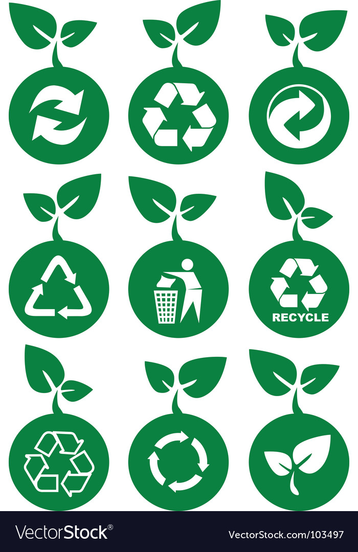 Environment icons vector | Price: 1 Credit (USD $1)