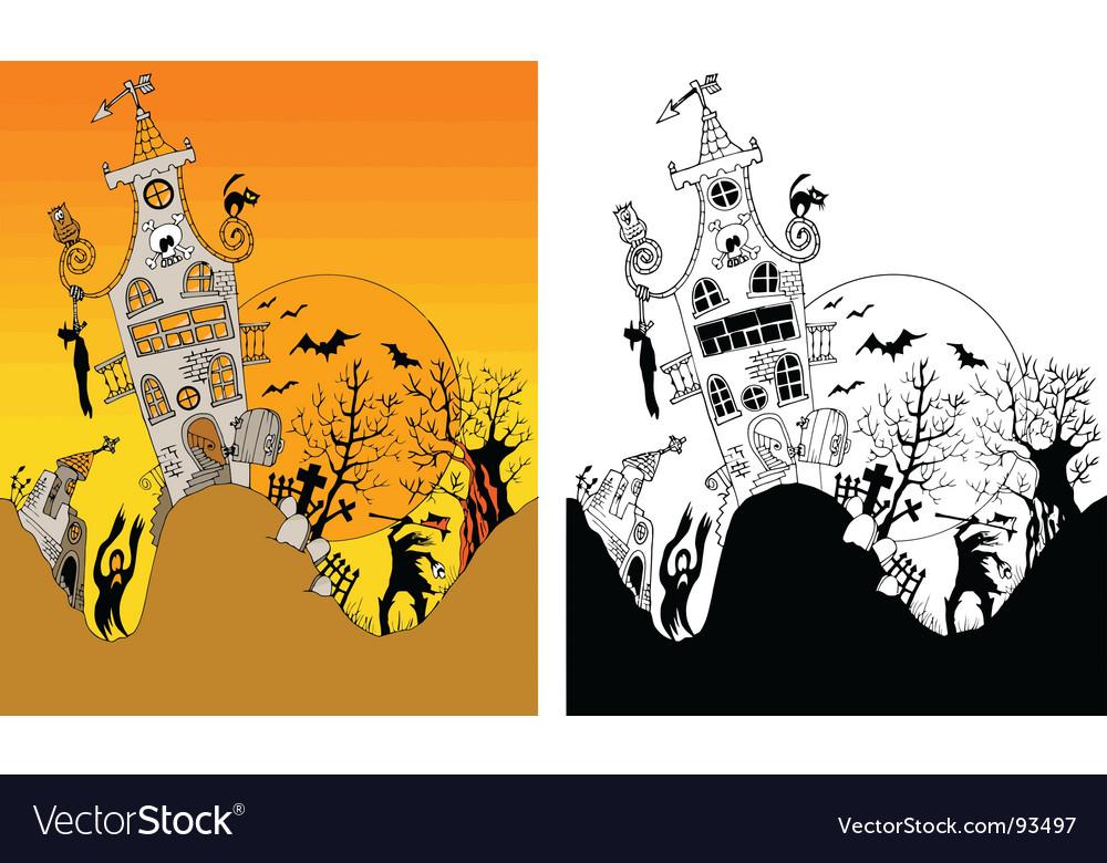 Halloween horror vector   Price: 1 Credit (USD $1)