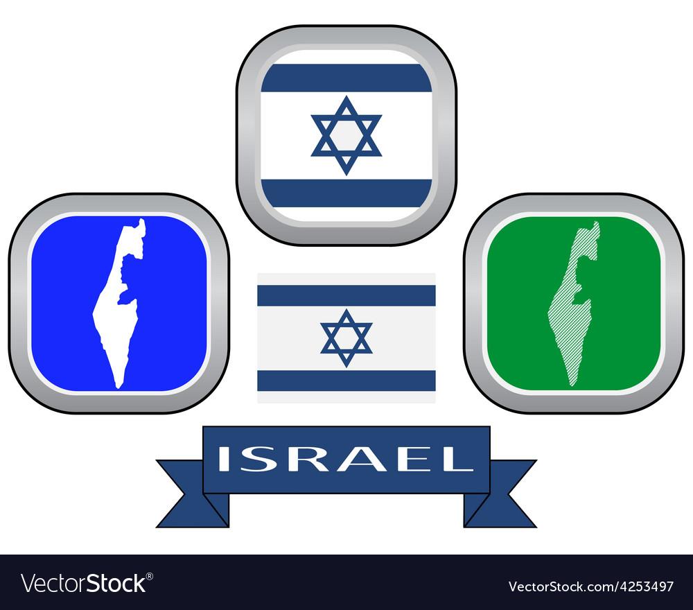 Symbol of israel vector | Price: 1 Credit (USD $1)