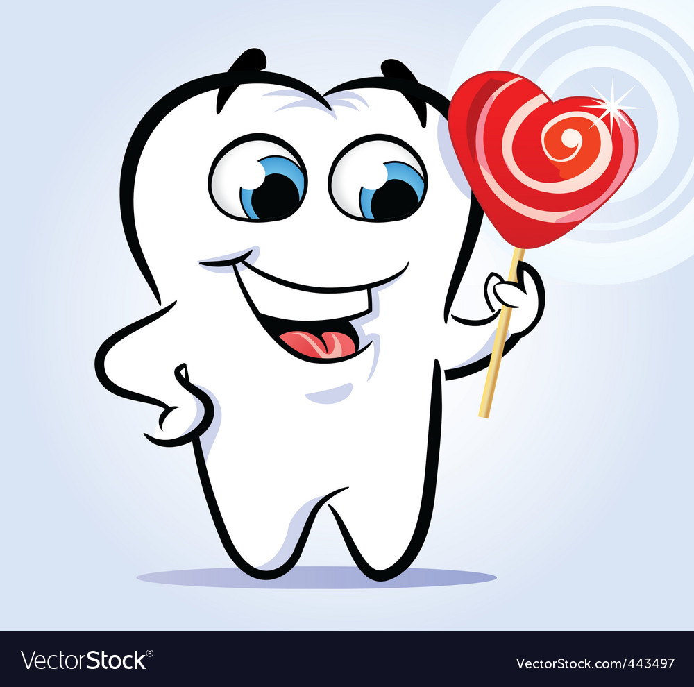 Tooth sweet vector | Price: 1 Credit (USD $1)