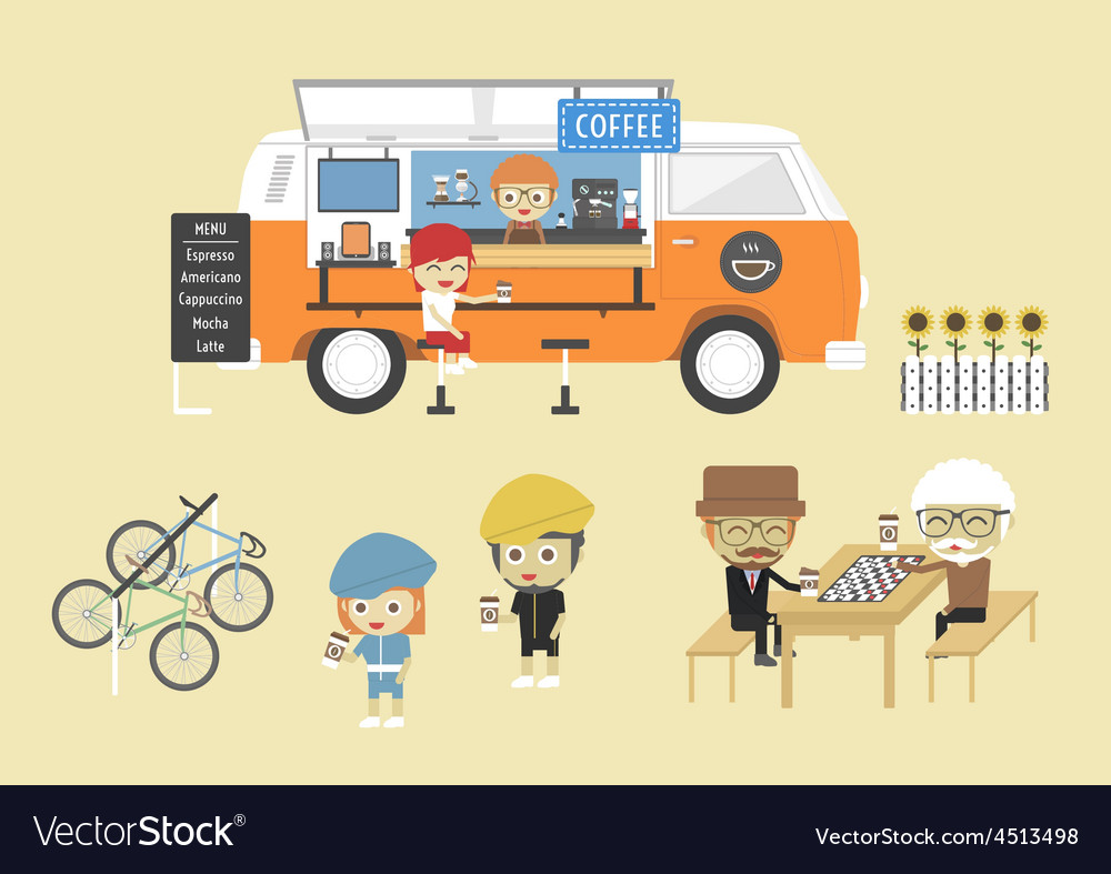 83mobile coffee vector | Price: 1 Credit (USD $1)