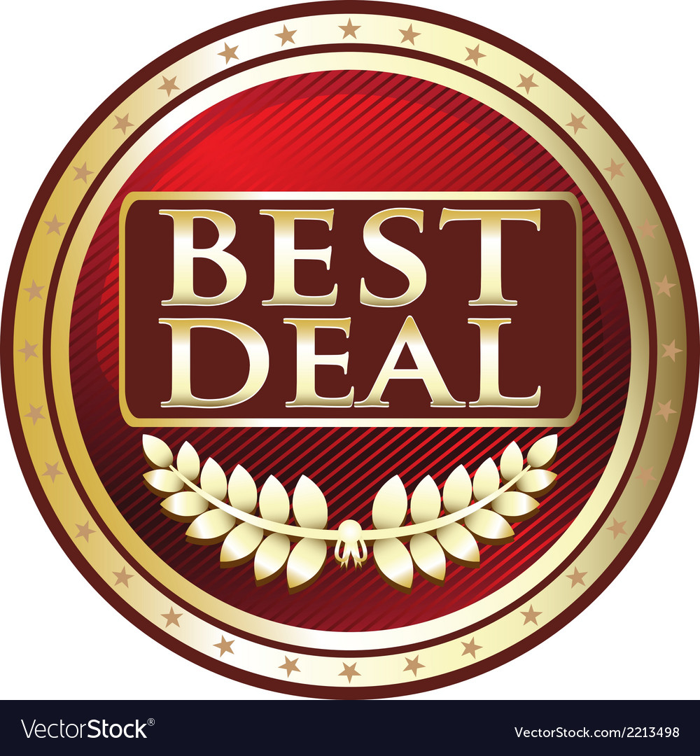 Best deal red label vector | Price: 1 Credit (USD $1)