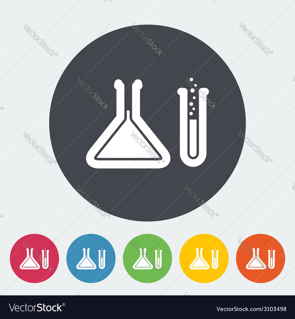 Chemisty icon vector | Price: 1 Credit (USD $1)