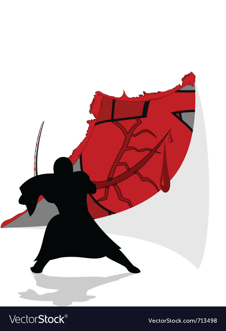 Ninja vector | Price: 1 Credit (USD $1)