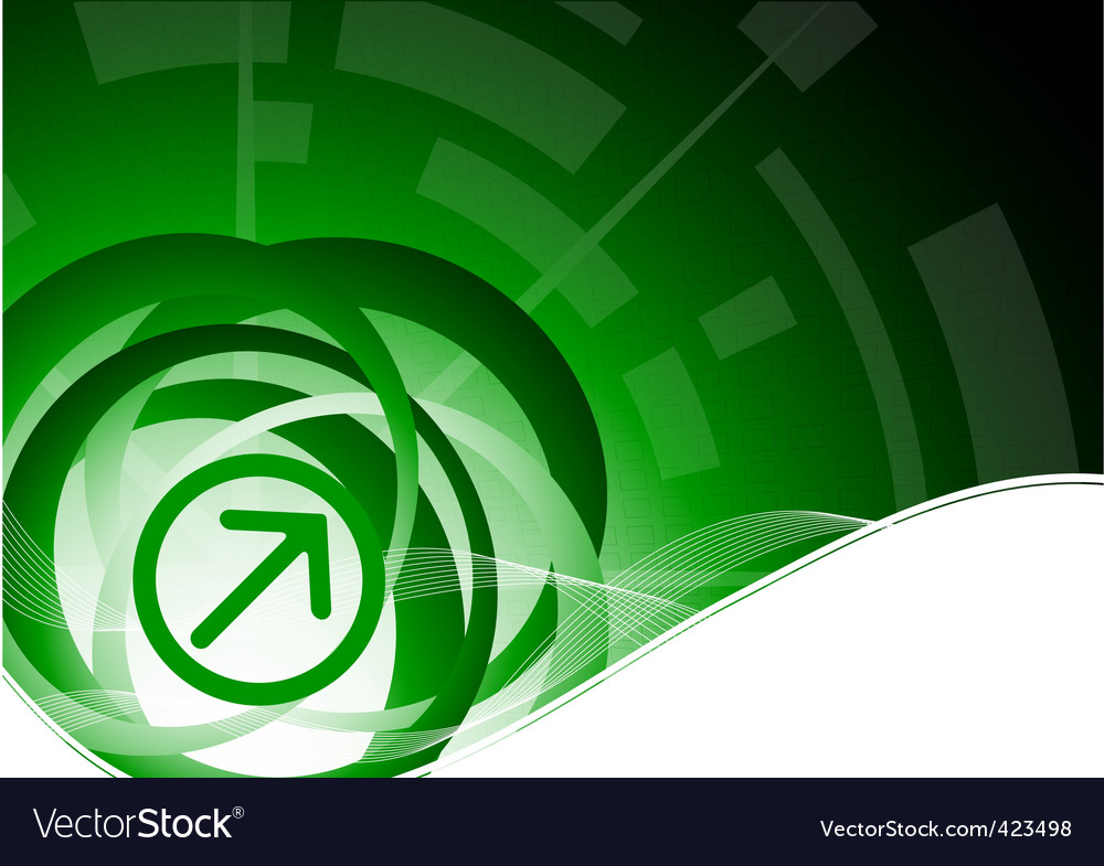 tech green background vector | Price: 1 Credit (USD $1)