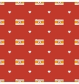 Flat hipster cameras seamless pattern vector