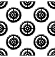 Gears and pinions seamless pattern vector