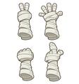 Mummy hand vector