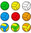 Cartoon volleyball vector