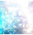 Glittering llight on bokeh background vector