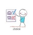Choice vector