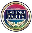 Latino party vector