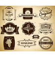 Vintage labels collection 22 vector