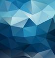 Blue night sky triangular background vector