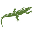Crocodile design vector