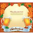 Banner octoberfest vector