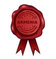 Product of armenia wax seal vector