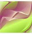 Abstract background in green lilac colors vector
