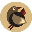 Vintage bird design vector