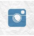 Photo icon simple vector