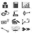 Bussiness icon vector