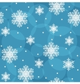 Seamless background with snowflakes eps10 vector