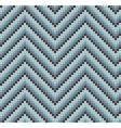 Seamless 60s retro zigzag pattern cool vector