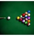 Billiard balls vector
