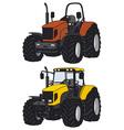 Tractors vector