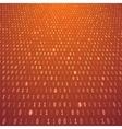 Yellow orange abstract binary background vector