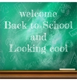 Back to school template design plus eps10 vector