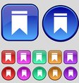 Web stickers tags and banners sale icon sign a set vector