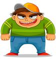 Cartoon bully vector