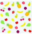 Background with fruits vector
