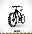 Mountain bike symbol vector