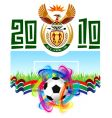 World cup in south africa 2010 vector