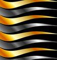 High grade metal wave background vector