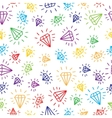 Cartoon diamond seamless background template for vector