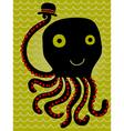 Octopus salutes vector