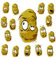 Potato cartoon vector