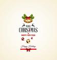 Christmas card 2 vector
