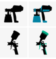Spray guns vector