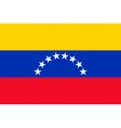 Venezuelan civil flag vector