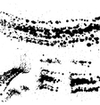 Grunge blots vector
