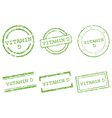Vitamin d stamps vector