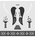 Avenging angel vector
